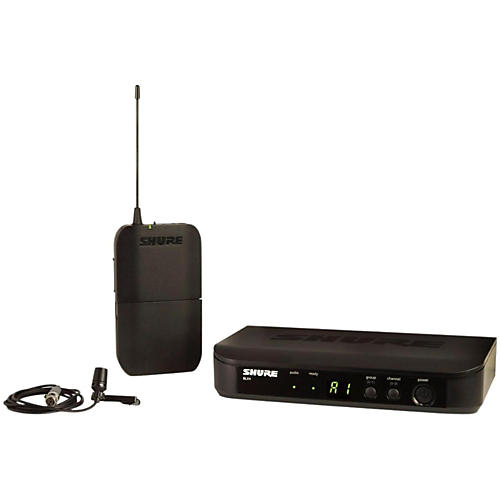 Shure BLX14 Lavalier System with CVL Lavalier Microphone thumbnail