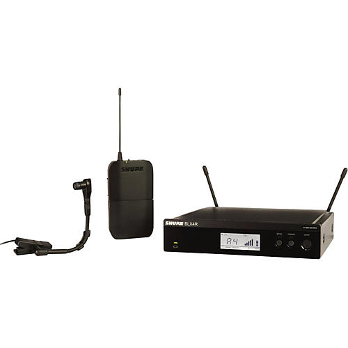 Shure BLX14R/B98 Wireless Horn System with Rackmountable Receiver and WB98H/C thumbnail
