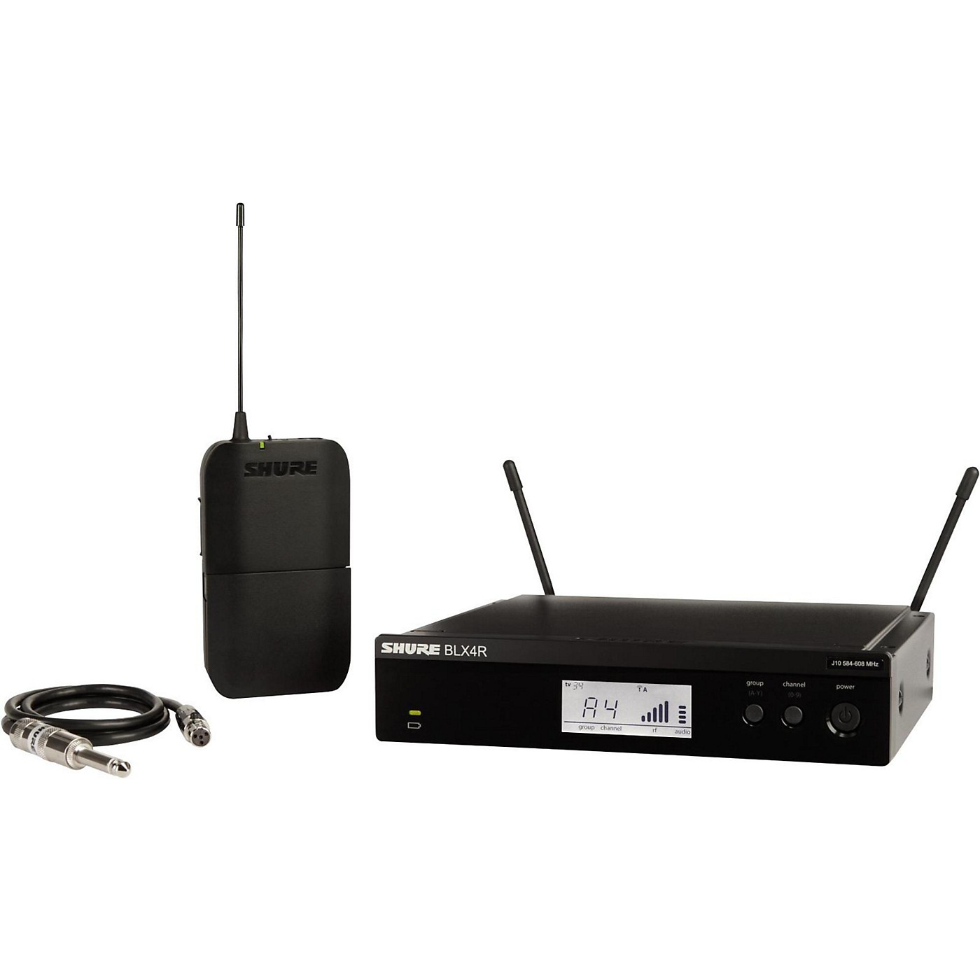Shure BLX14R Wireless Guitar System with Rackmountable Receiver thumbnail
