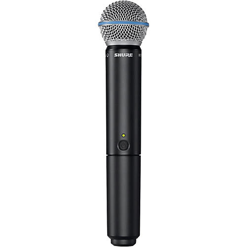 Shure BLX2/B58 Handheld Wireless Transmitter with Beta 58A Capsule thumbnail