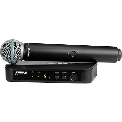 Shure BLX24/B58 Handheld Wireless System with Beta 58A Capsule thumbnail