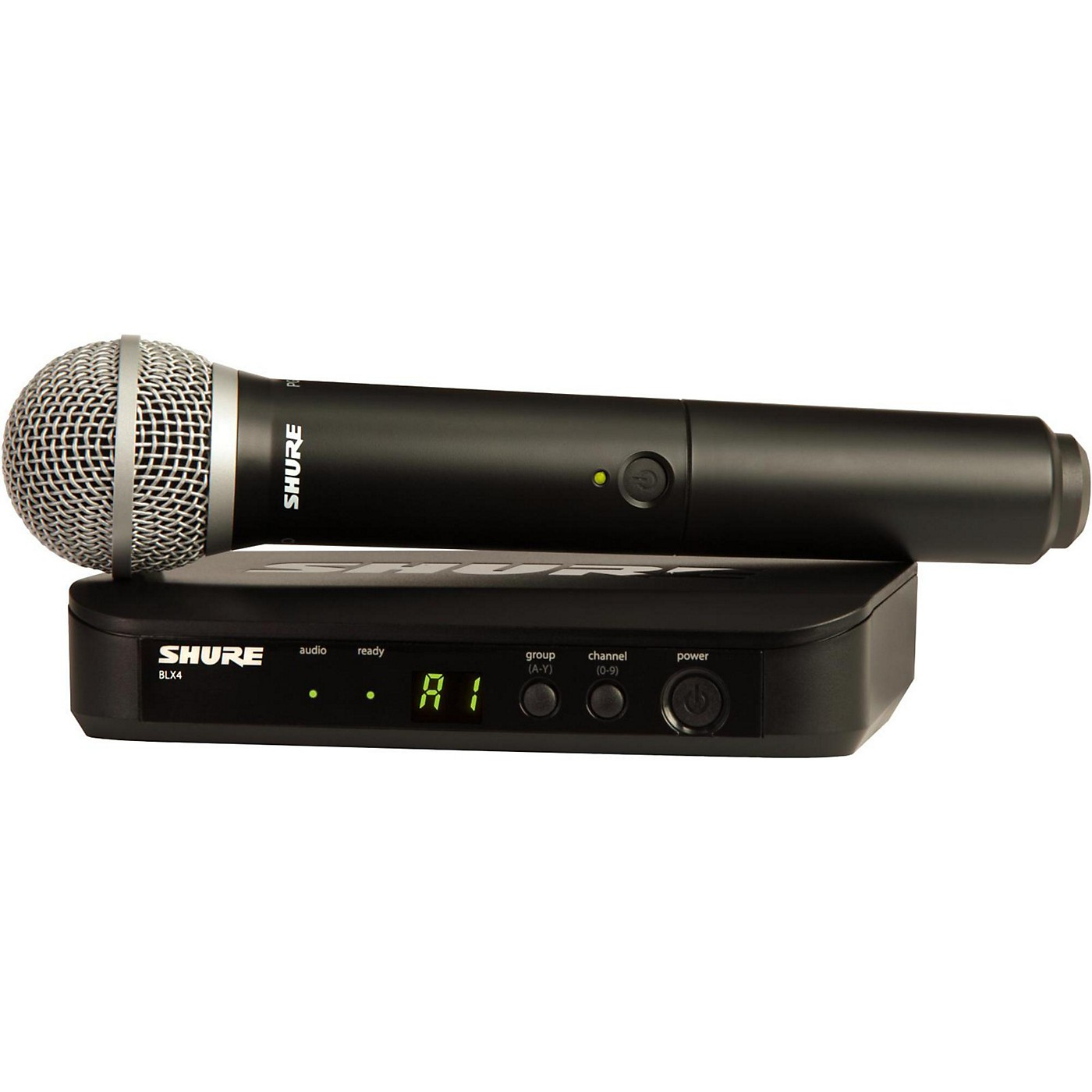 Shure BLX24 Handheld Wireless System With PG58 Capsule thumbnail