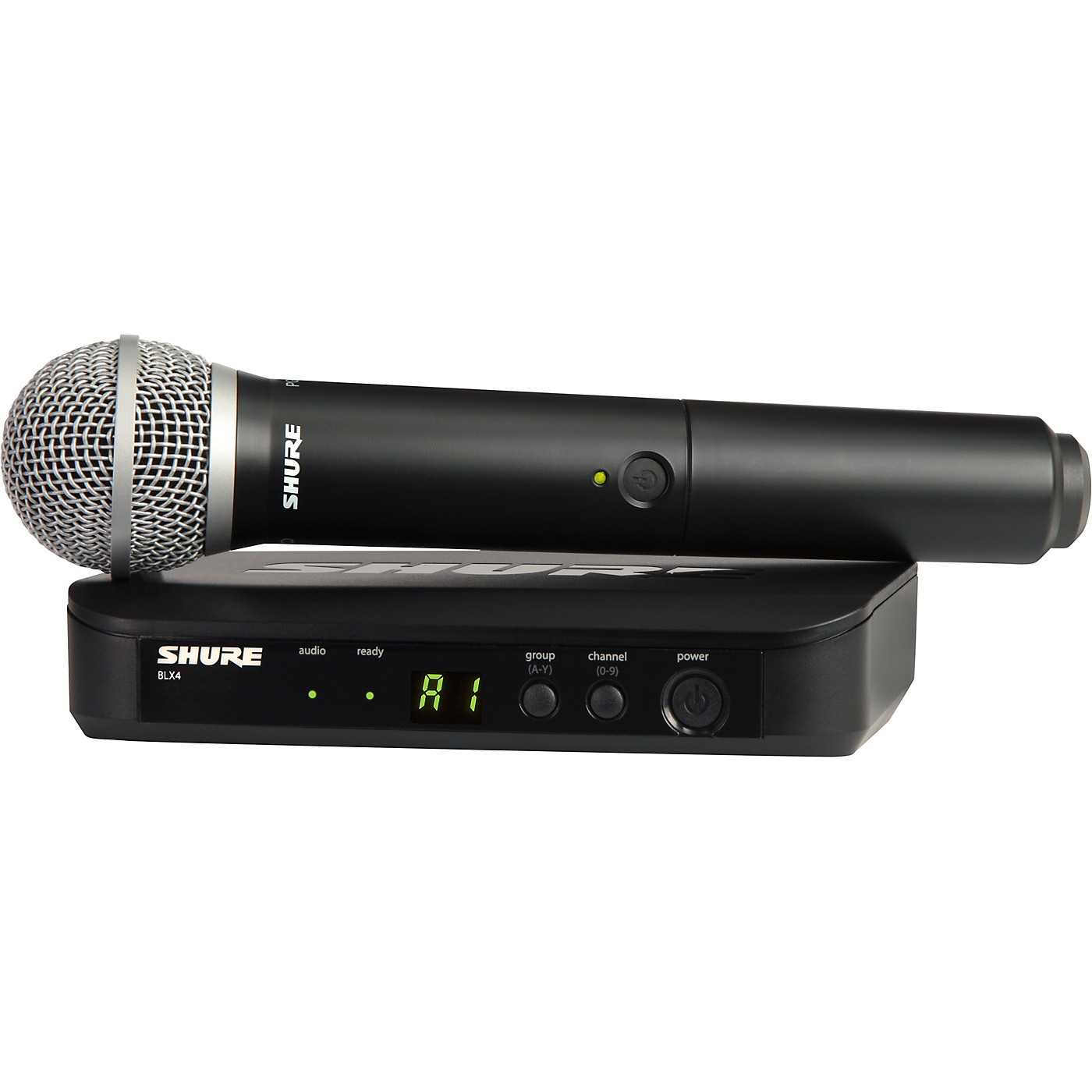 Shure BLX24/PG58 Handheld Wireless System with PG58 Capsule thumbnail