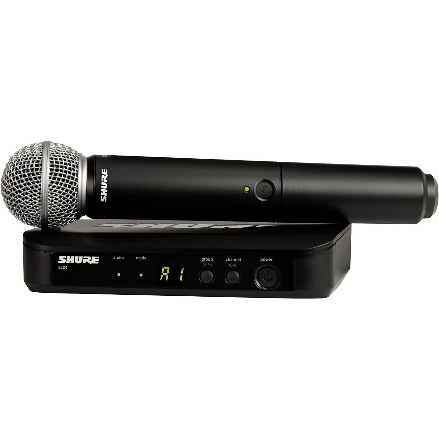 Shure BLX24/SM58 Handheld Wireless System with SM58 Capsule thumbnail