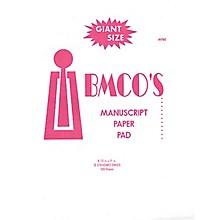 Music Sales BMCO 12-Stave Manuscript Pad Music Sales America Series Softcover