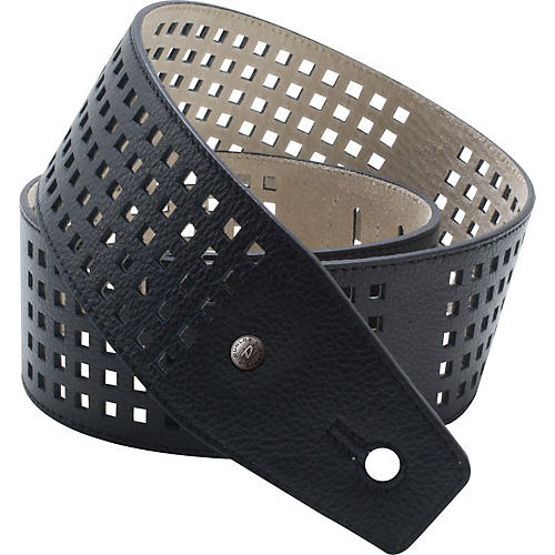 Dunlop BMF Leather Strap - Square Perforations thumbnail