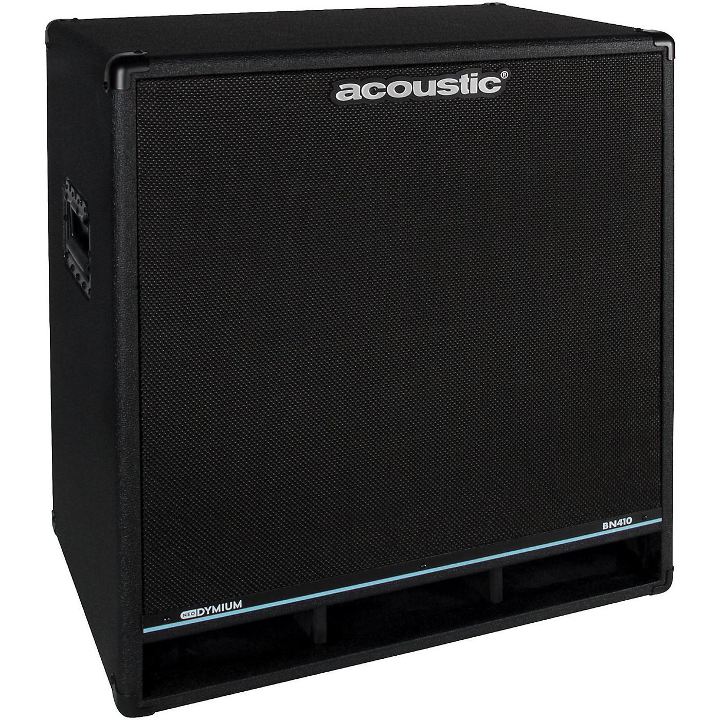 Acoustic BN410 800W 4x10 Bass Speaker Cabinet thumbnail