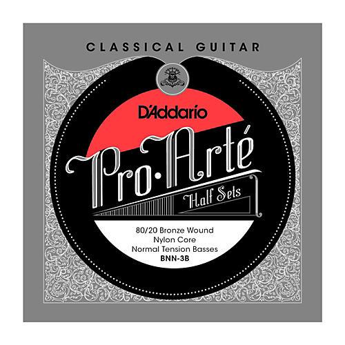 D'Addario BNN-3B Pro-Arte 80/20 Normal Tension Classical Guitar Strings Half Set thumbnail