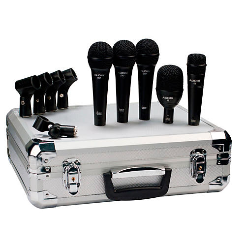 Audix BP5F 5-Piece Band Microphone Pack-thumbnail