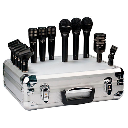 Audix BP7 Pro 7-Piece Band Microphone Pack thumbnail
