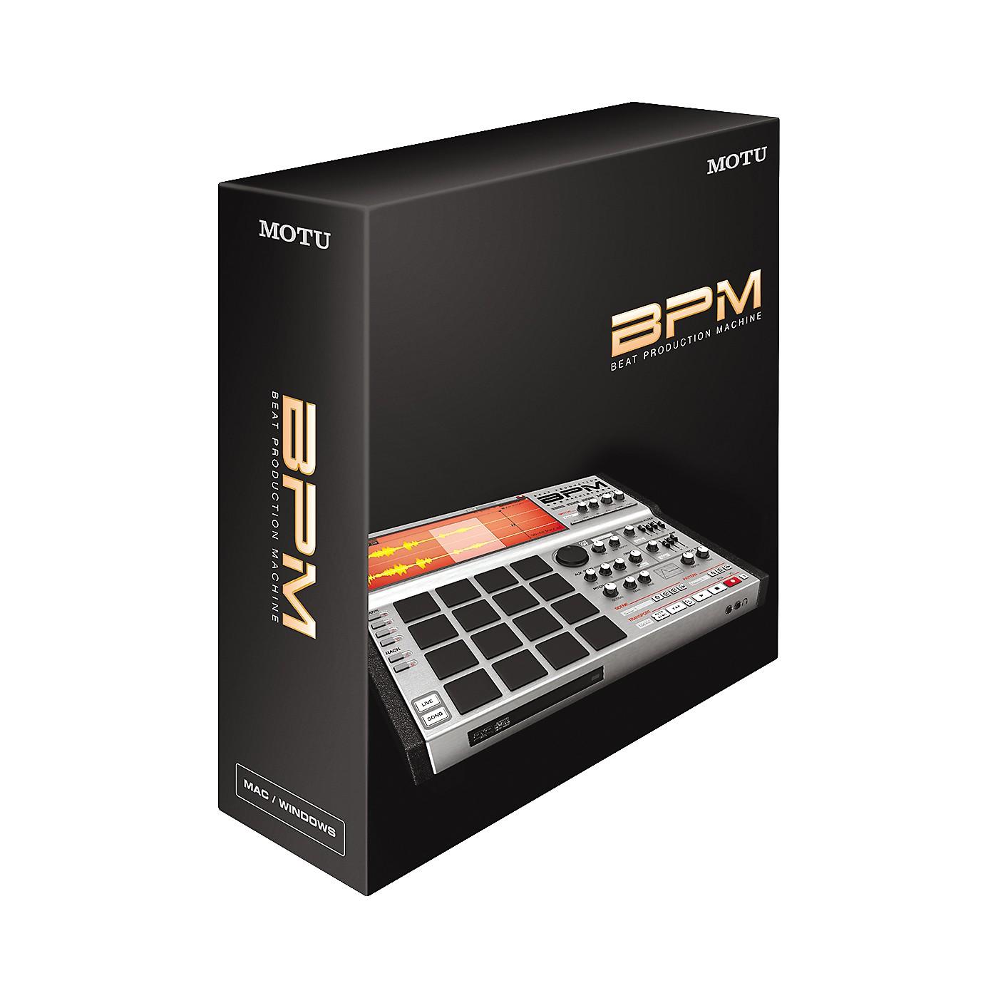 MOTU BPM Beat Production Machine Virtual Instrument thumbnail