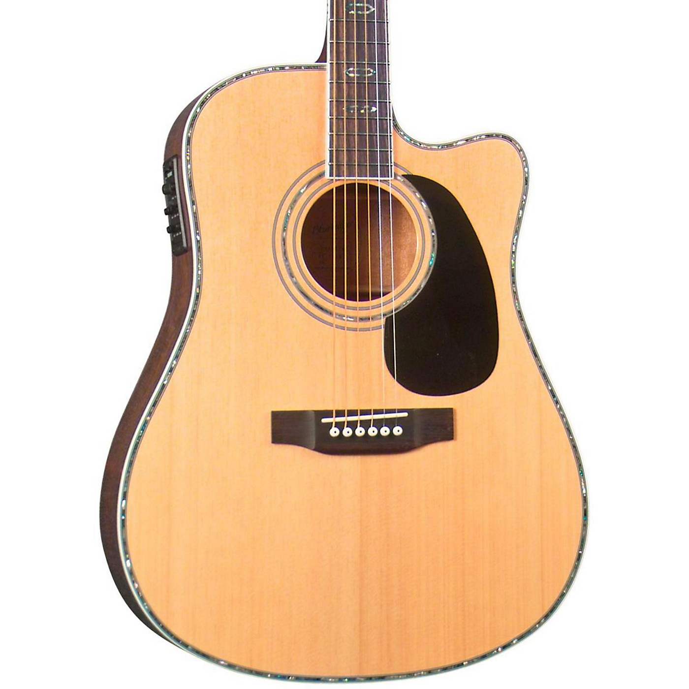 Blueridge BR-70CE Cutaway Acoustic-Electric Dreadnought Guitar thumbnail