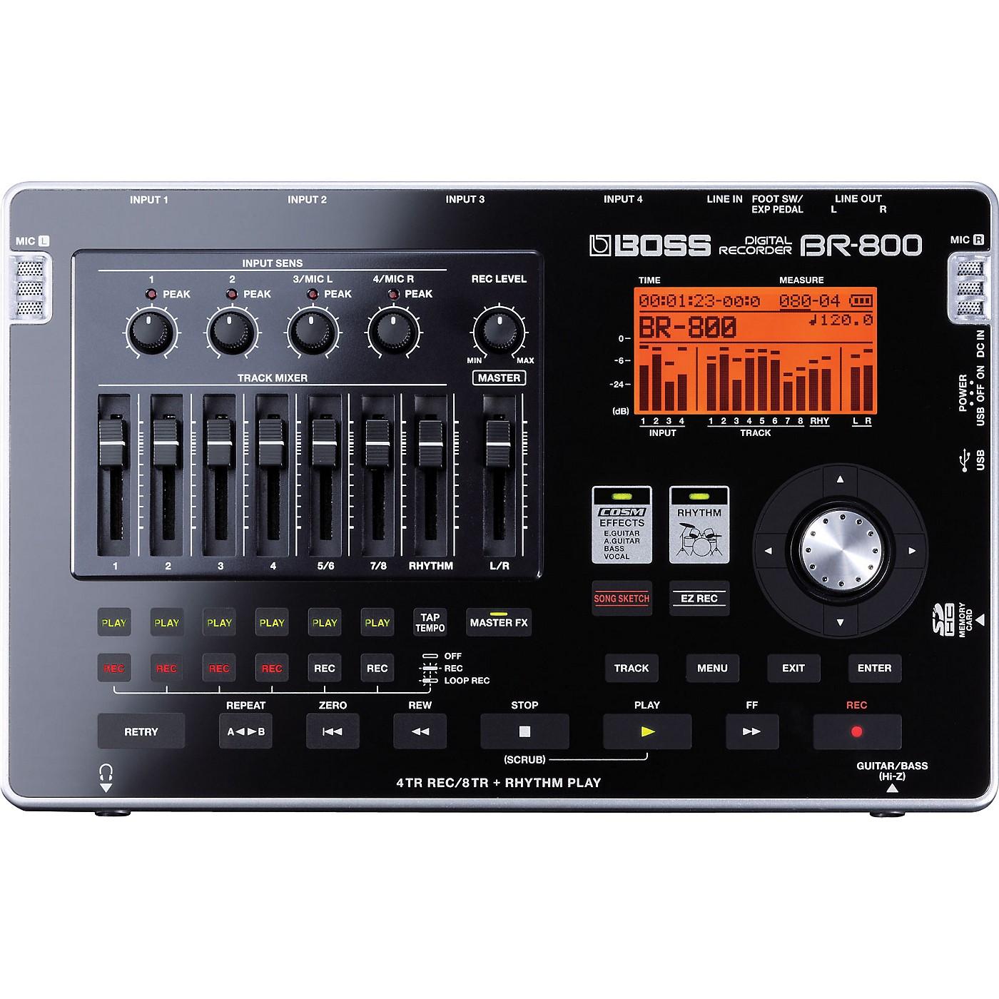 Boss BR-800 Digital Recorder thumbnail