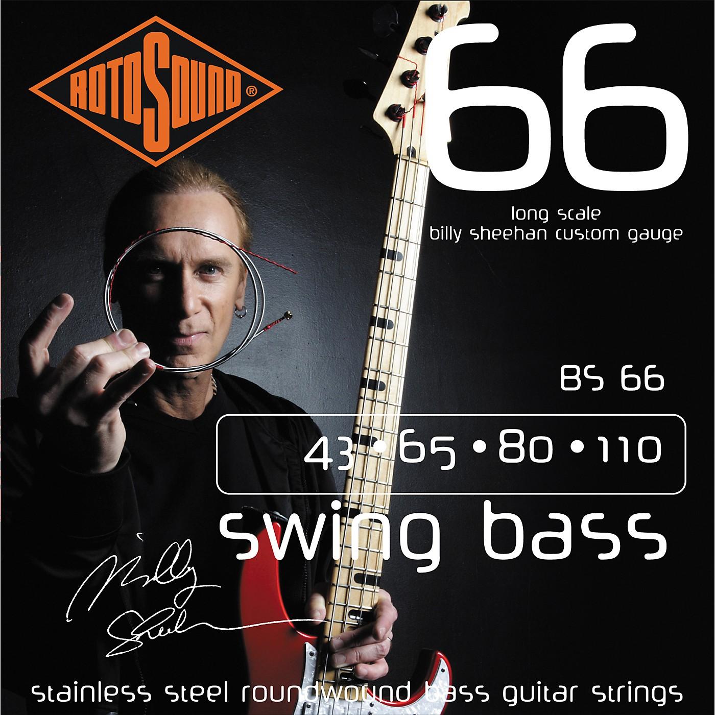 Rotosound BS66 Billy Sheehan Bass Strings thumbnail