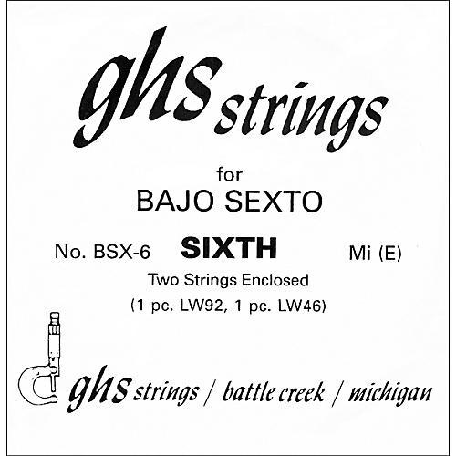 GHS BSX6 Bajo Sexto Single Guitar String thumbnail