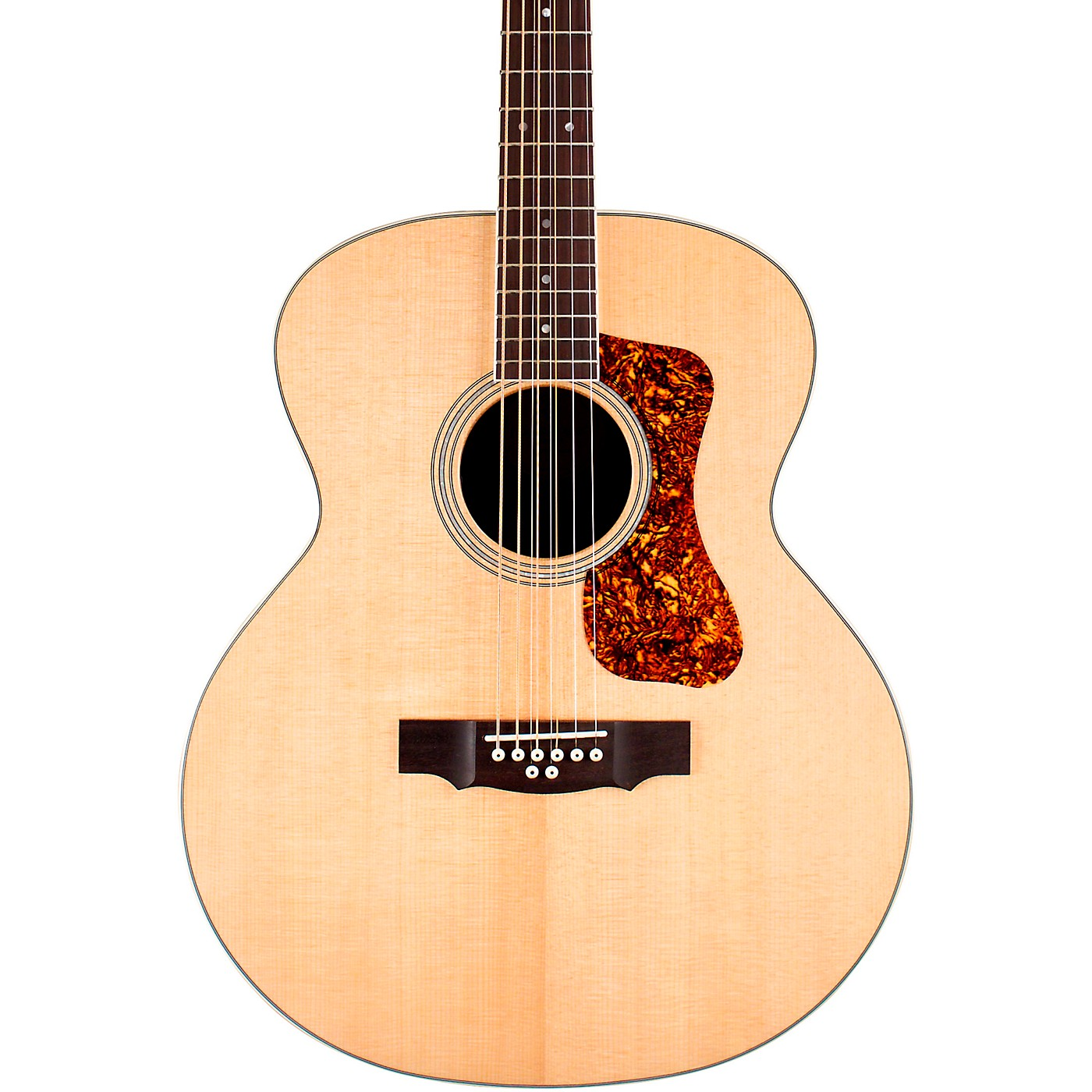 Guild BT-258E Deluxe Westerly Collection 8-String Baritone Jumbo Acoustic-Electric Guitar thumbnail