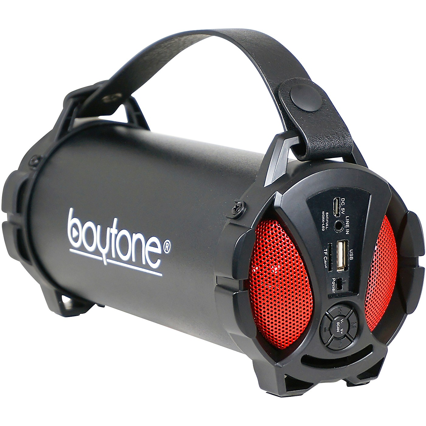 Boytone BT-38 Portable Bluetooth Hi-Fi Cylinder Speaker thumbnail