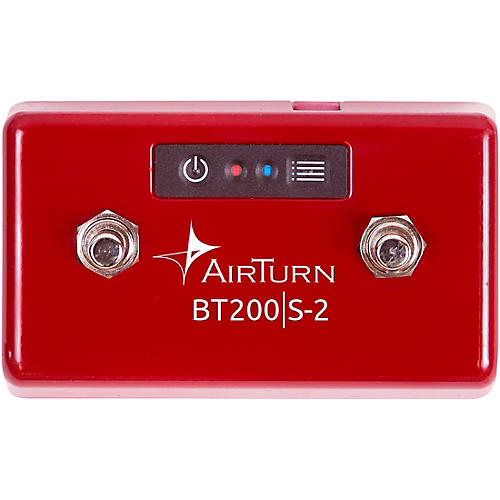AirTurn BT200S-2 Bluetooth 2 Foot Switch Controller thumbnail