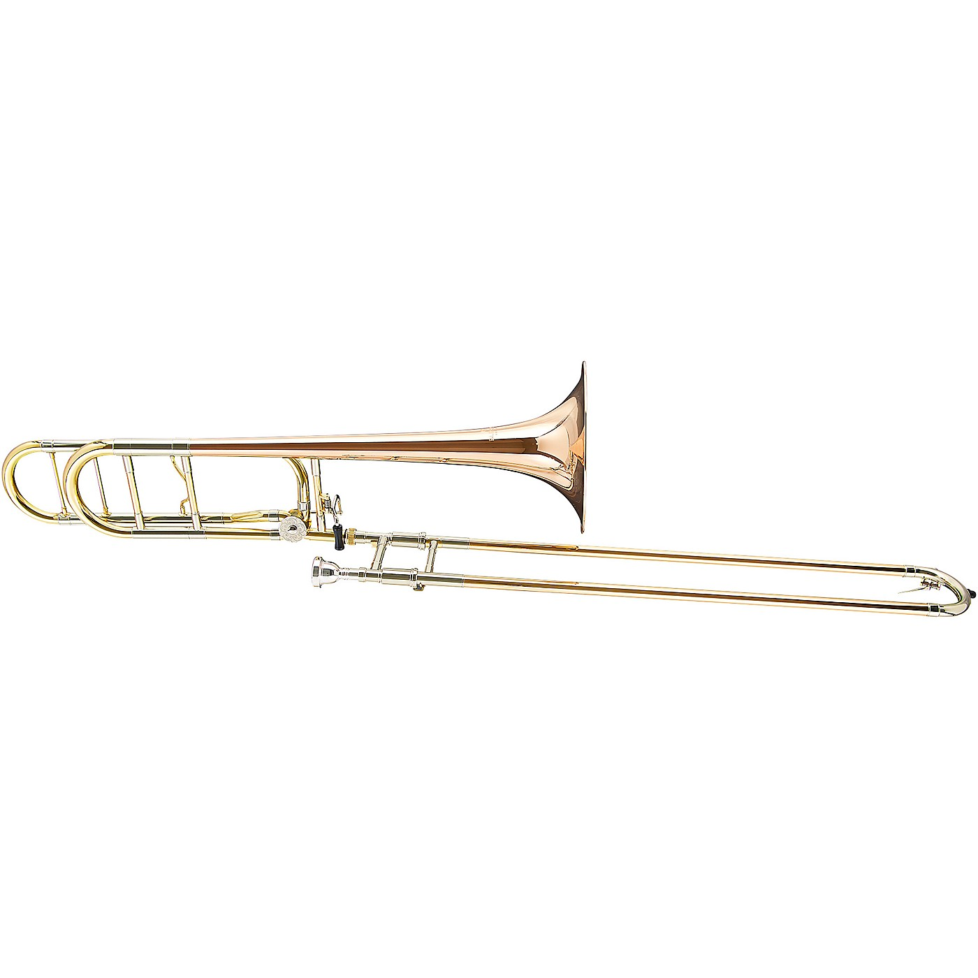 Blessing BTB-1488 Performance Series Bb/F Large Bore Rotor Trombone Outfit With Open Wrap thumbnail