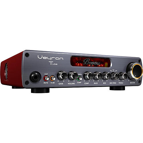 Bugera BV1001T Veyron Tube 2,000W Tube Hybrid Bass Amplifier Head-thumbnail