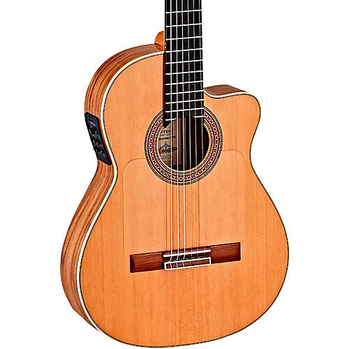 Ortega BWSM/2 Ben Woods Signature Flamenco Acoustic-Electric Guitar thumbnail