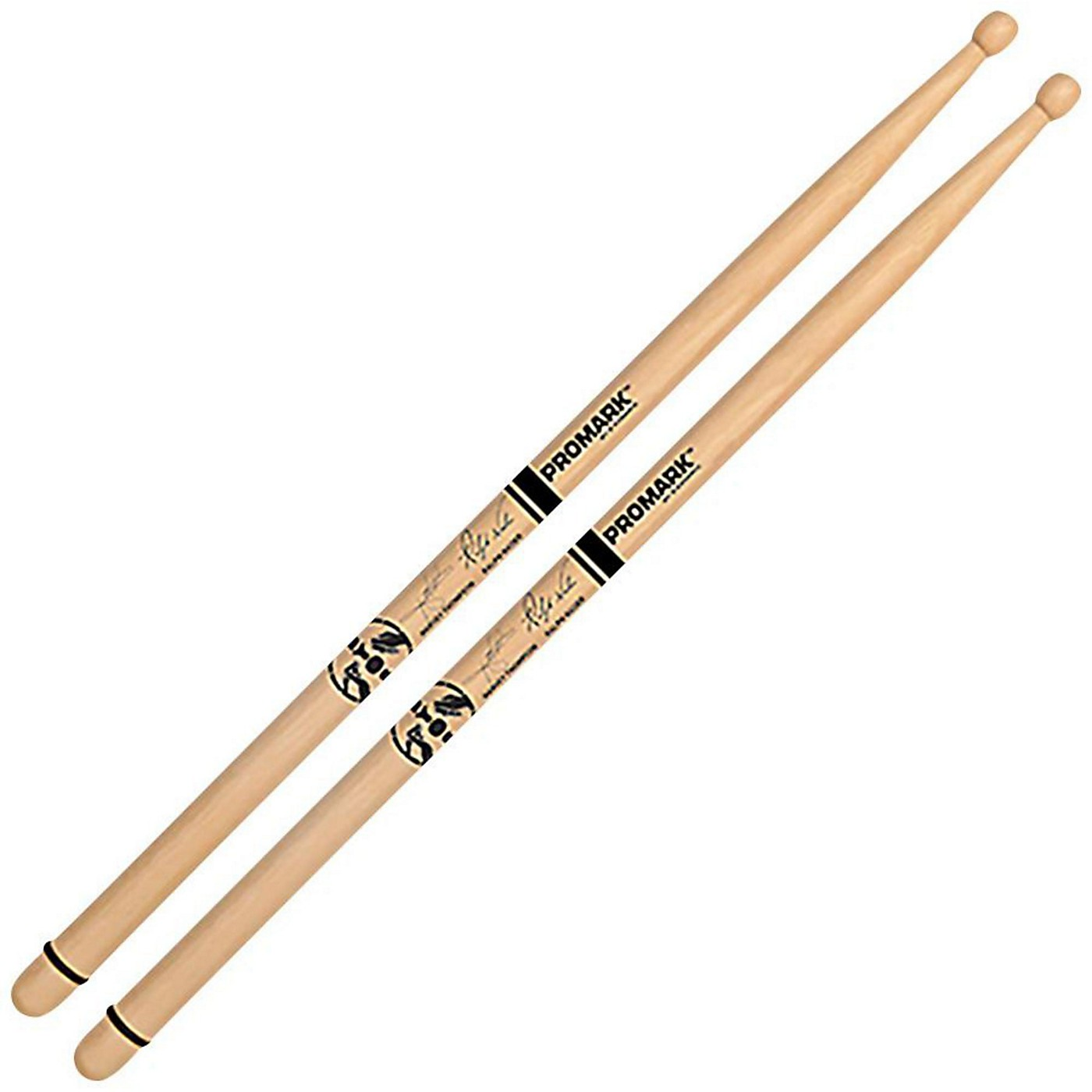 Promark BYOS Hickory Oval Wood Tip Drumsticks thumbnail