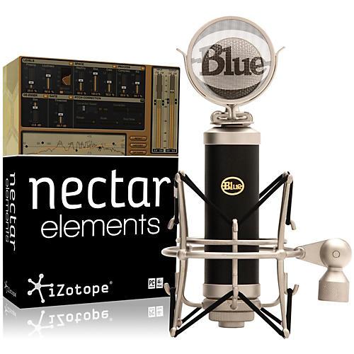 BLUE Baby Bottle Mic with Nectar Elements Bundle thumbnail