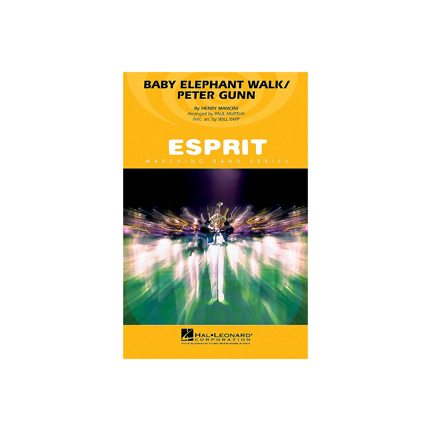 Hal Leonard Baby Elephant Walk/Peter Gunn Marching Band Level 3 Arranged by Paul Murtha thumbnail
