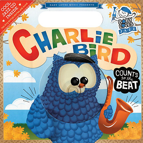 Penguin Books Baby Loves Jazz Charlie Bird Counts to the Beat book & CD-thumbnail