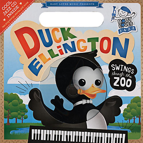 Penguin Books Baby Loves Jazz Duck Ellington Swings Through the Zoo Book & CD-thumbnail