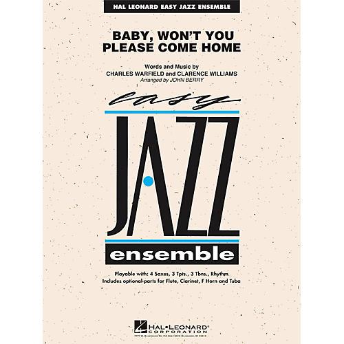 Hal Leonard Baby Won't You Please Come Home - Easy Jazz Ensemble Series Level 2 thumbnail