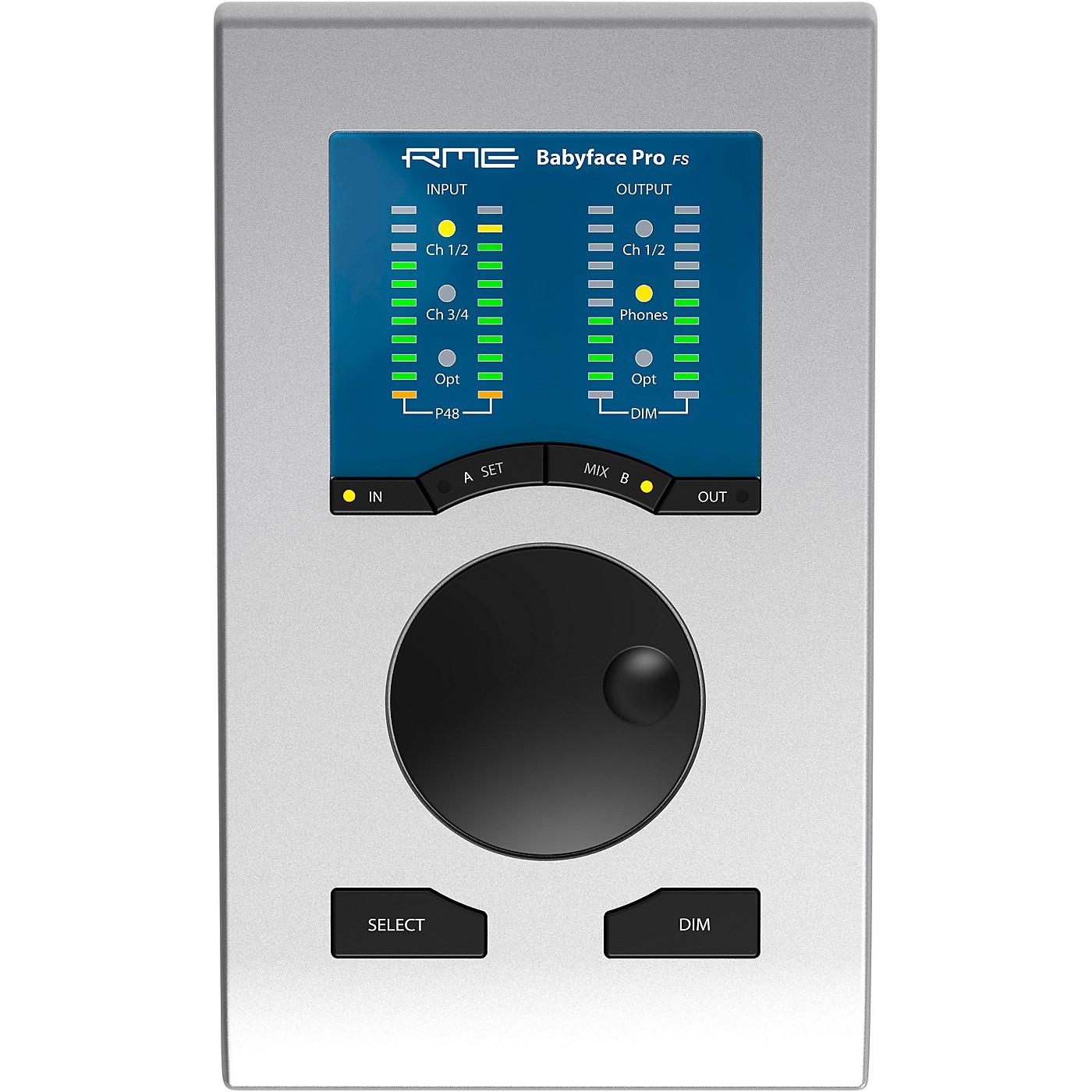 RME Babyface Pro FS Audio Interface thumbnail