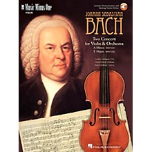Music Minus One Bach - Violin Conc No. 1 in A Min, BWV1041; Violin Conc No. 2 in E Maj, BWV1042 Music Minus One BK/CD