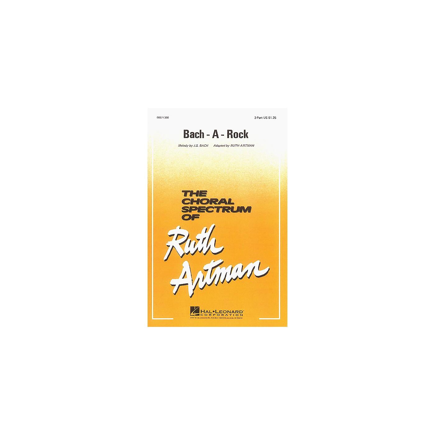Hal Leonard Bach-A-Rock 2-Part arranged by Ruth Artman thumbnail