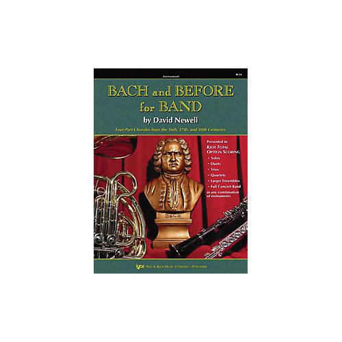 KJOS Bach And Before for Band Clarinet/Bass Clarinet thumbnail