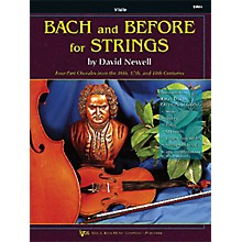 KJOS Bach And Before for Strings Violin