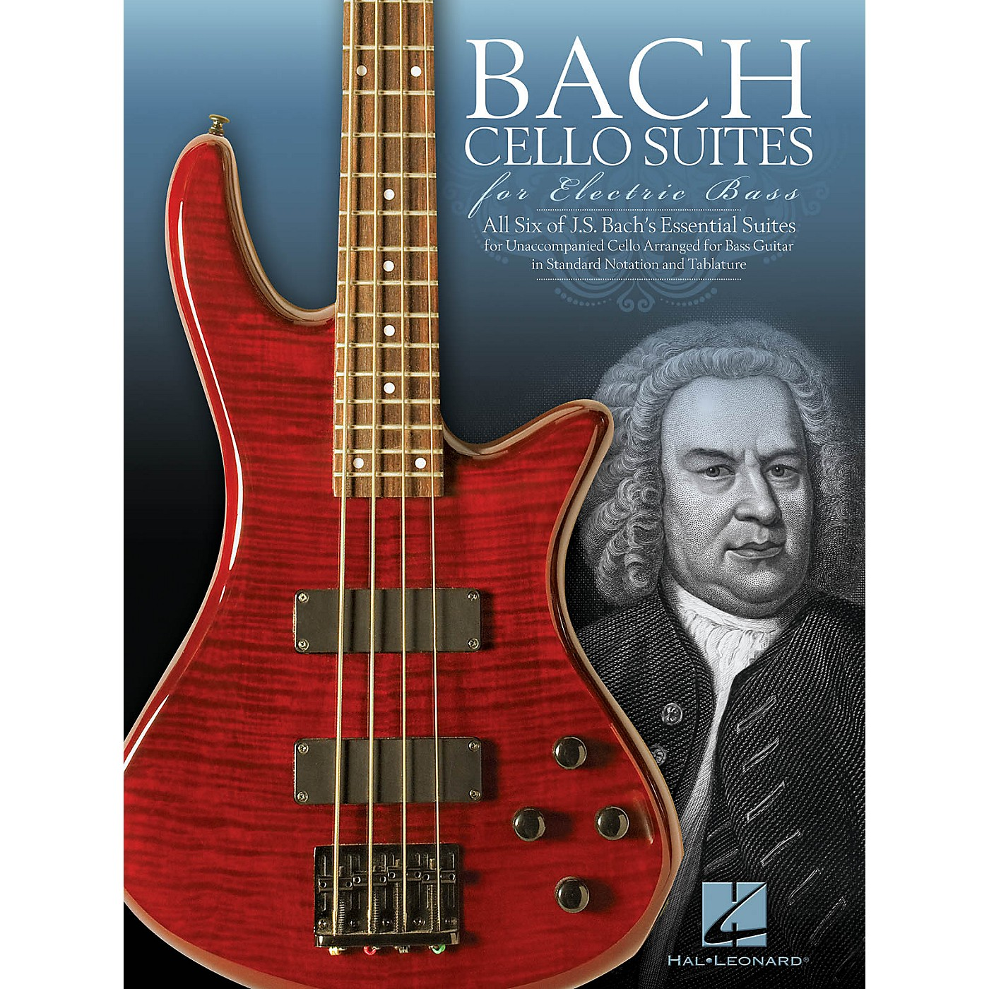 Hal Leonard Bach Cello Suites for Electric Bass Bass Series Softcover thumbnail