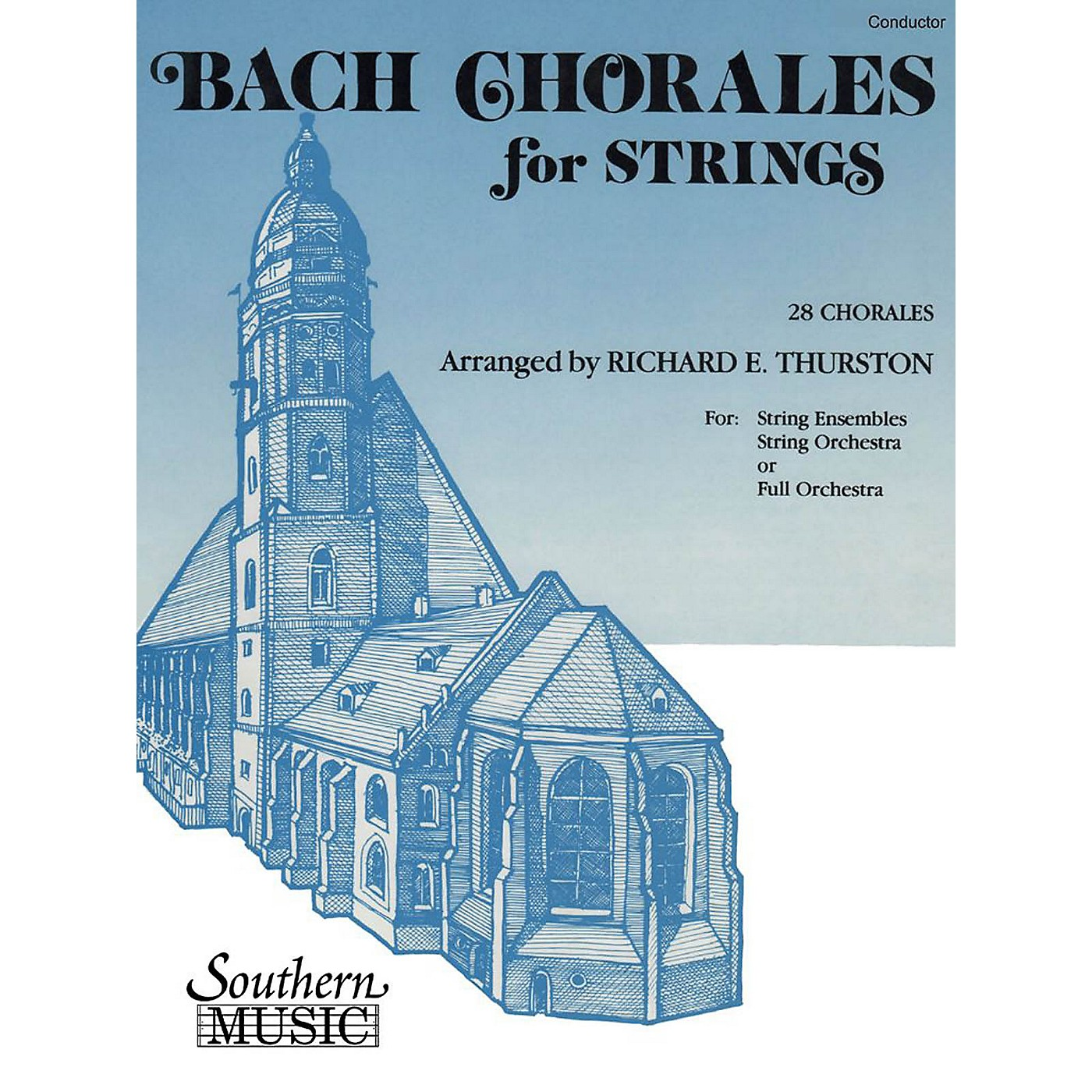 Southern Bach Chorales for Strings (28 Chorales) Southern Music by Bach Arranged by Richard E. Thurston thumbnail