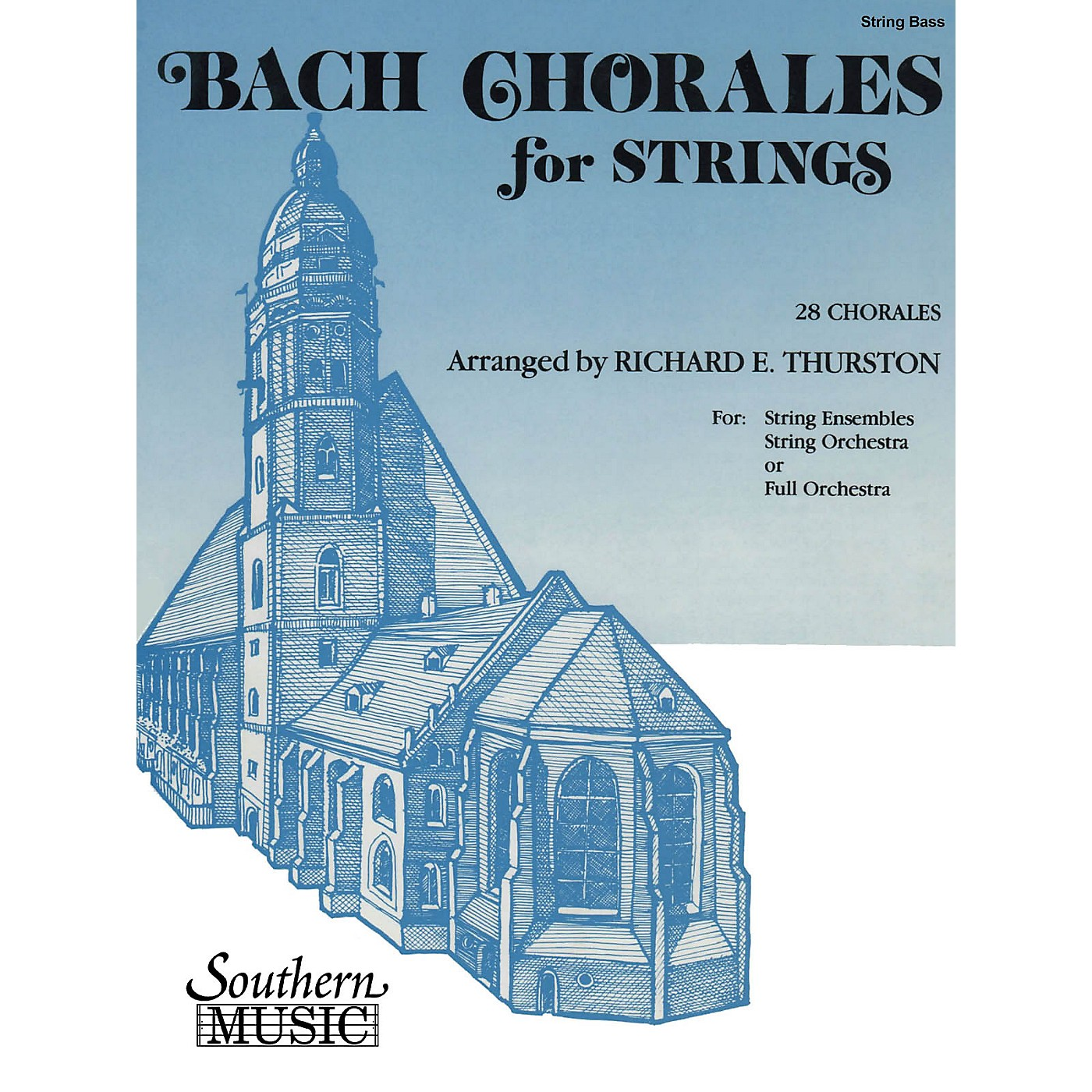 Southern Bach Chorales for Strings (28 Chorales) by Johann Sebastian Bach Arranged by Richard E. Thurston thumbnail