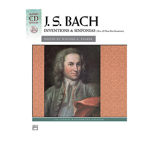 Alfred Bach Inventions & Sinfonias (Two- & Three-Part Inventions) Intermediate/Early Advanced Piano thumbnail