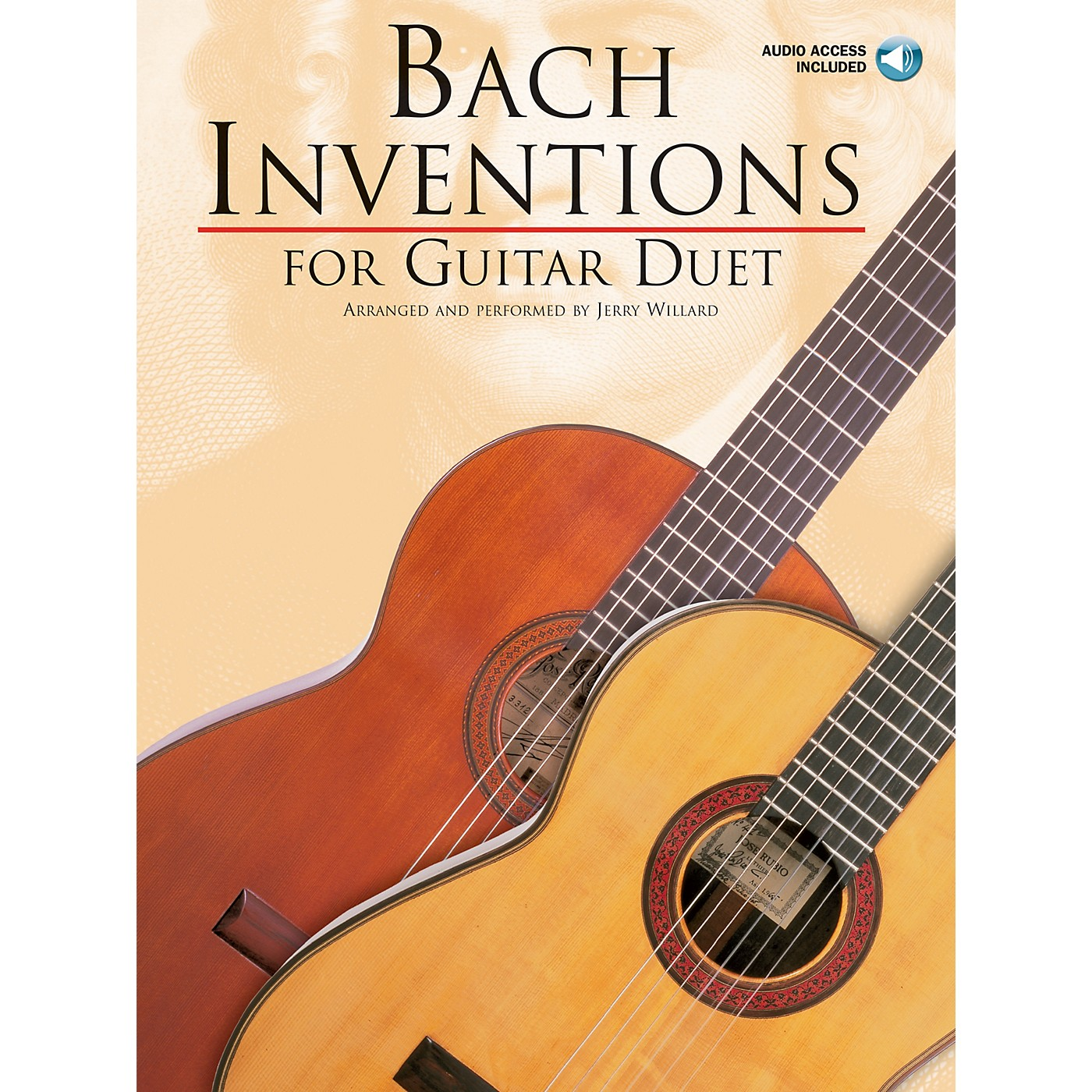 Music Sales Bach Inventions (for Guitar Duet) Music Sales America Series Softcover with CD thumbnail