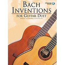 Music Sales Bach Inventions (for Guitar Duet) Music Sales America Series Softcover with CD