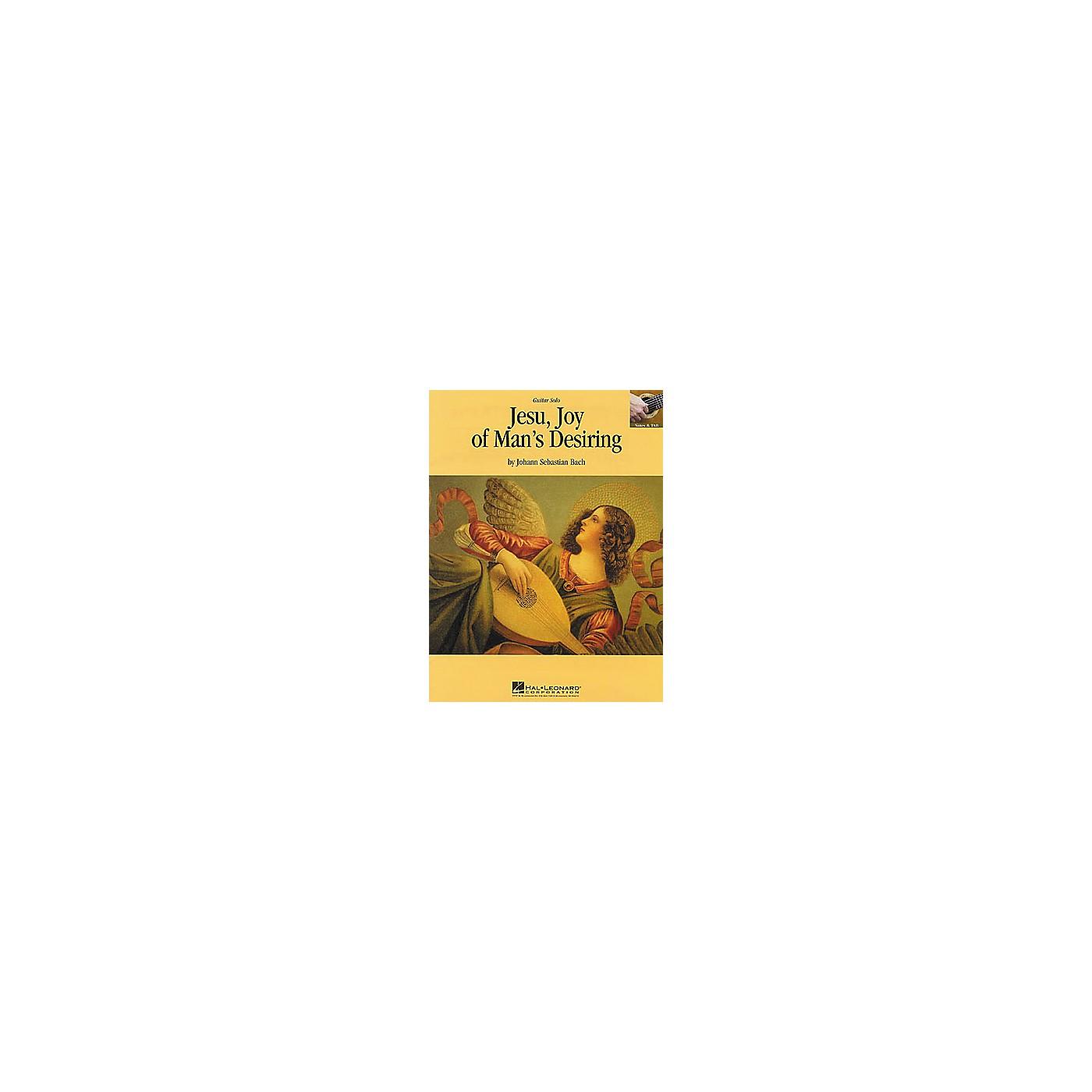 Hal Leonard Bach: Jesu, Joy of Man's Desiring Guitar Sheet Music Book thumbnail