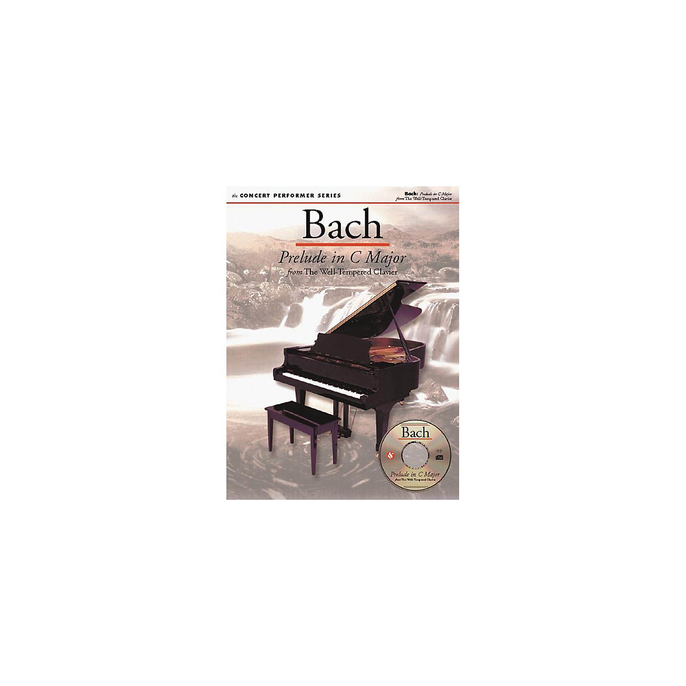 Music Sales Bach: Prelude in C Major (Concert Performer Series) Music Sales America Series Softcover with disk thumbnail