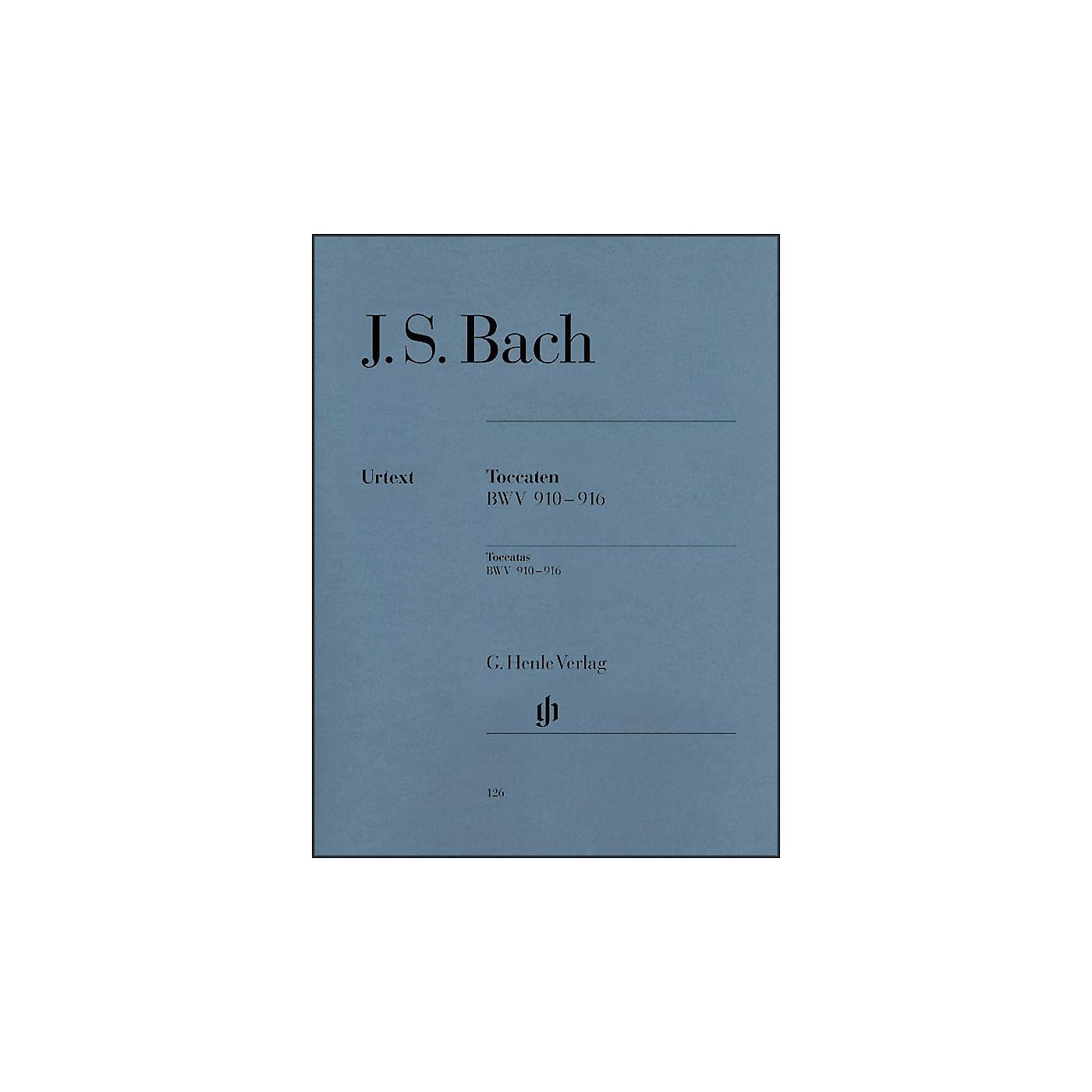 G. Henle Verlag Bach Toccatas BWV 910-916 By Bach thumbnail