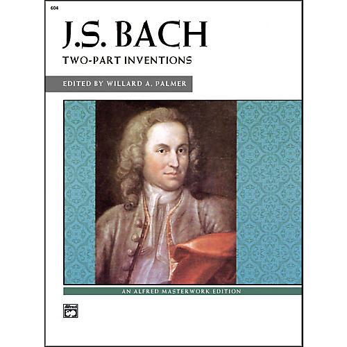 Alfred Bach Two-Part Inventions Intermediate/Late Intermediate  Piano thumbnail