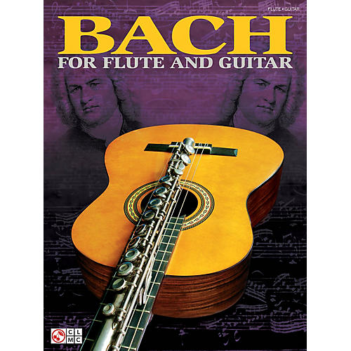 Cherry Lane Bach for Flute and Guitar Guitar Series Softcover thumbnail