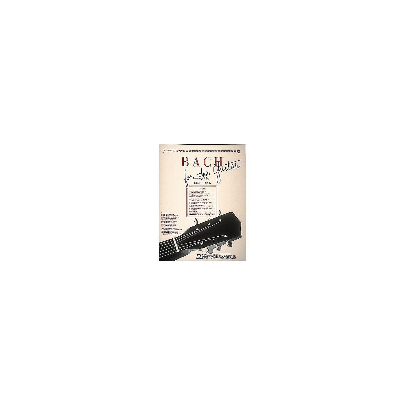 Edward B. Marks Music Company Bach for Guitar Book thumbnail
