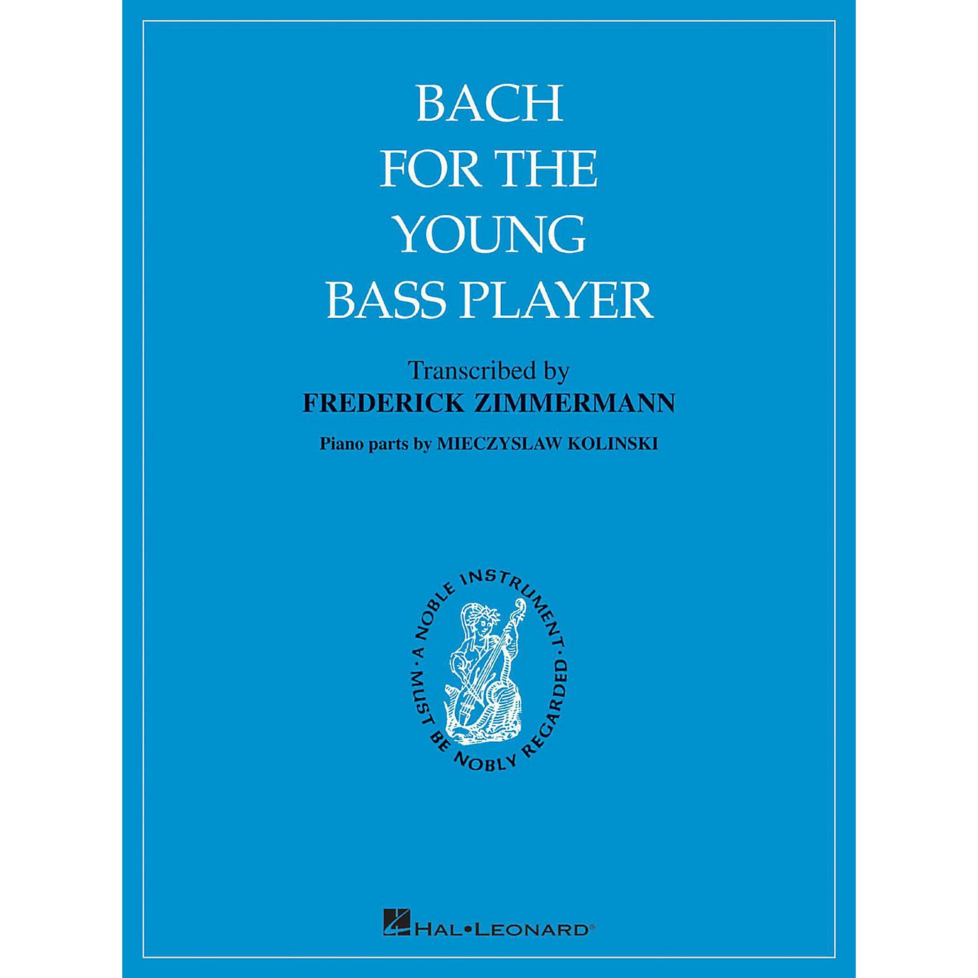 Hal Leonard Bach for The Young Bass Player By Bach thumbnail