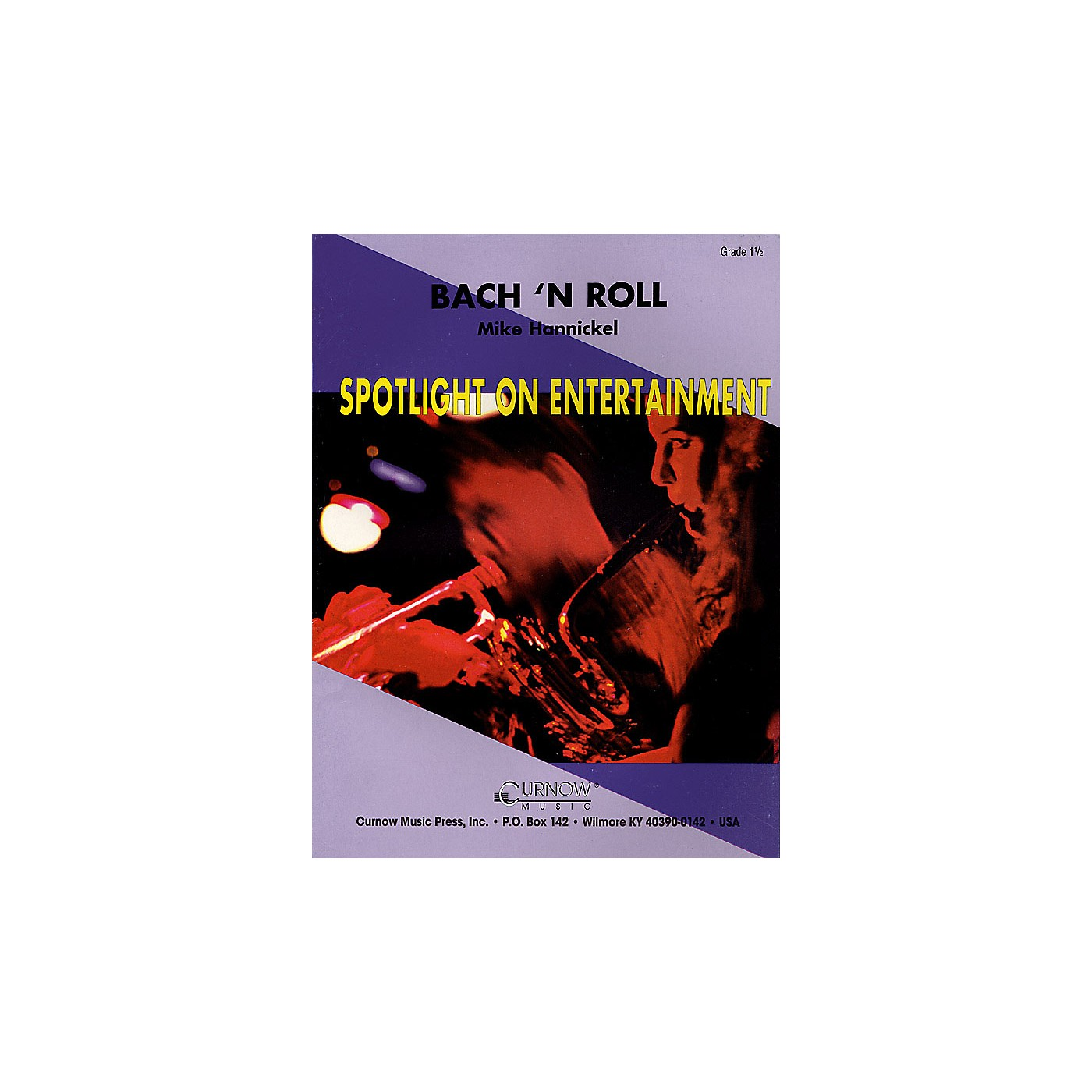 Hal Leonard Bach 'n Roll (Grade 1.5 - Score and Parts) Concert Band Level 1.5 Composed by Mike Hannickel thumbnail